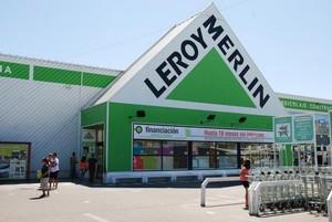 Entrada de uno de los establecimientos de Leroy Merlin, en España.