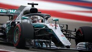 Lewis Hamilton saldráprimero en la parrillaen el GP de Estados Unidos