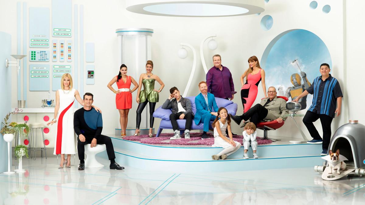 Los actores de la telecomedia Modern Family cobran 500.000 dólares por episodio.