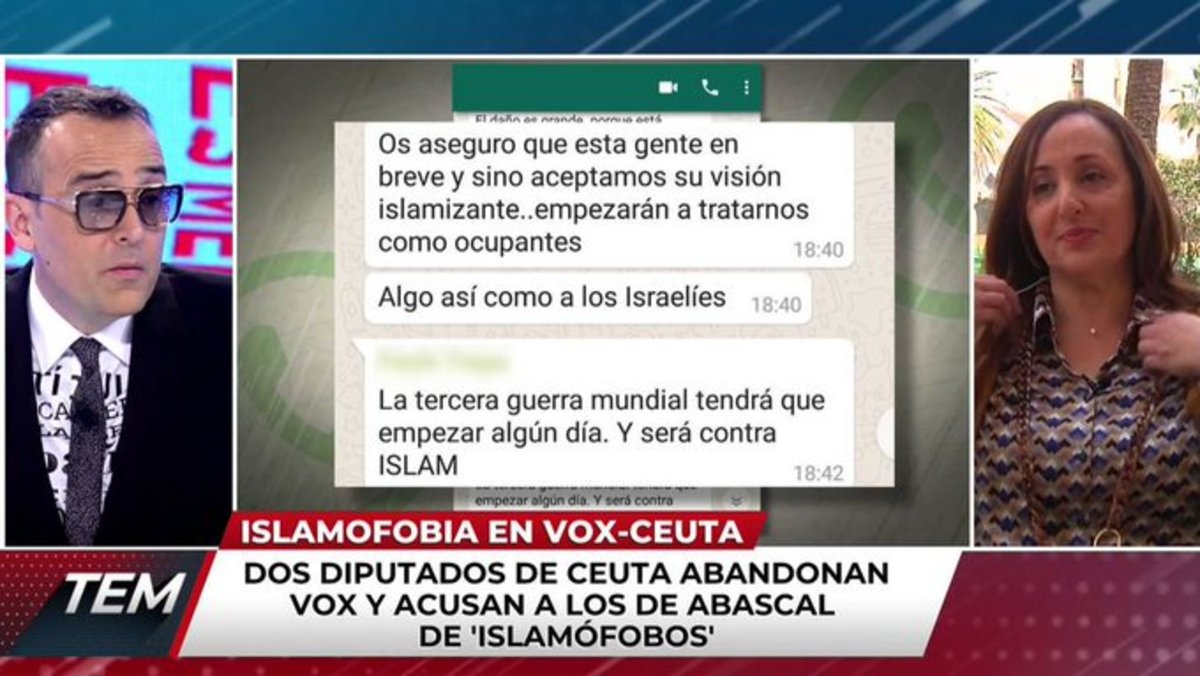 """Risto expulsa de 'TEM' a la diputada de Vox que dimitió: """"Hasta luego, Mari Carmen"""""""