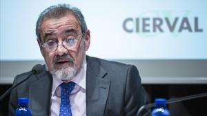 El presidente de la patronal valenciana CIERVAL, José Vicente González.