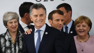 Mauricio Macri, presiente de Argentina, satisfecho con el acuerdo de Osaka.