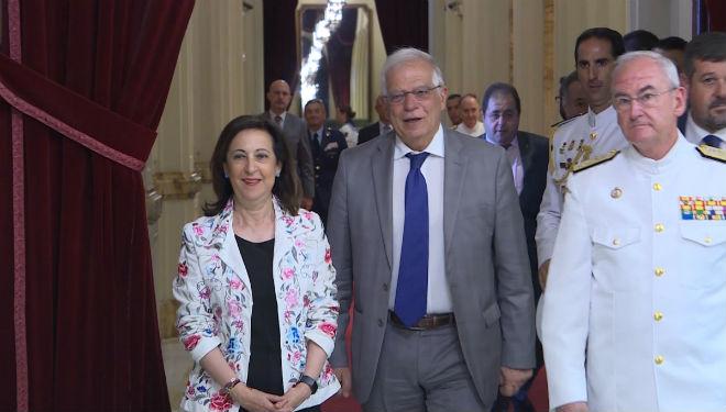 La ministra de Defensa en funciones, Margarita Robles, asumirá temporalmentela cartera de Asuntos Exteriores de Josep Borrell.