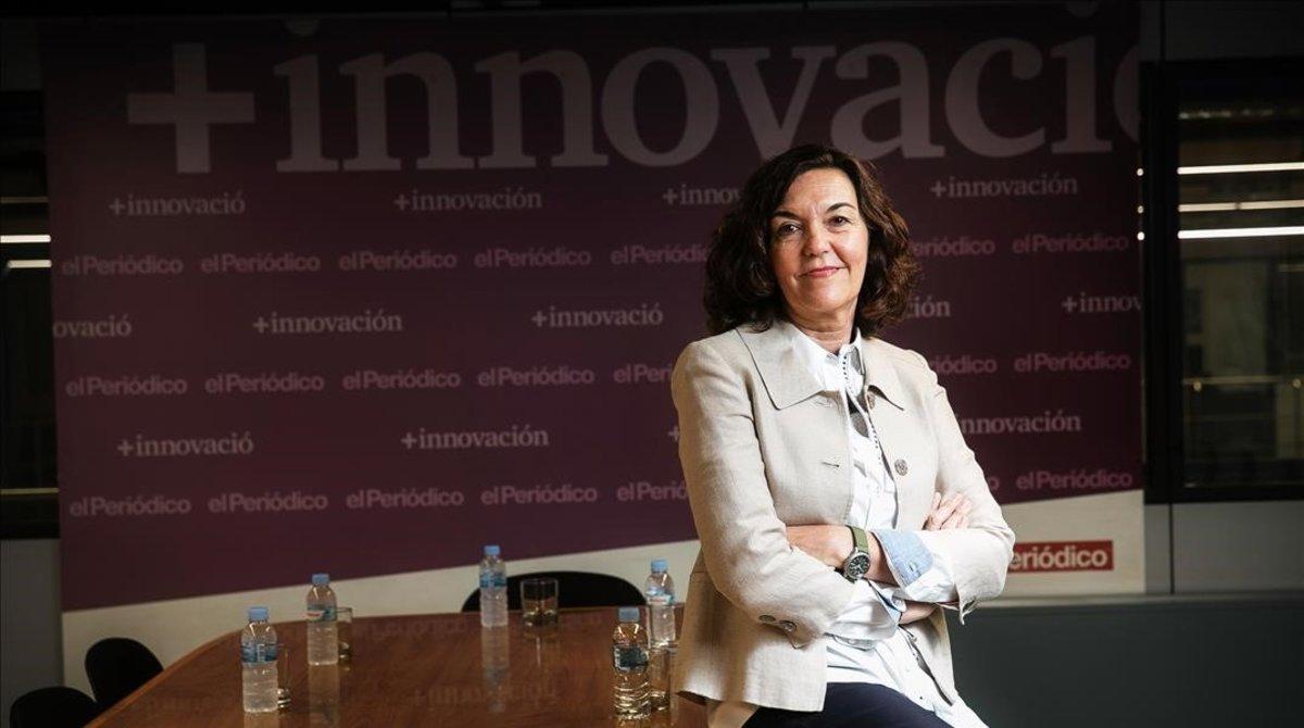 Maria Terrades, directora del Parc Científic de Barcelona.