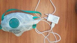 Mascarilla que se autolimpia con calor, dessarrollada por el Instituto Tecnológico Technion de Israel.