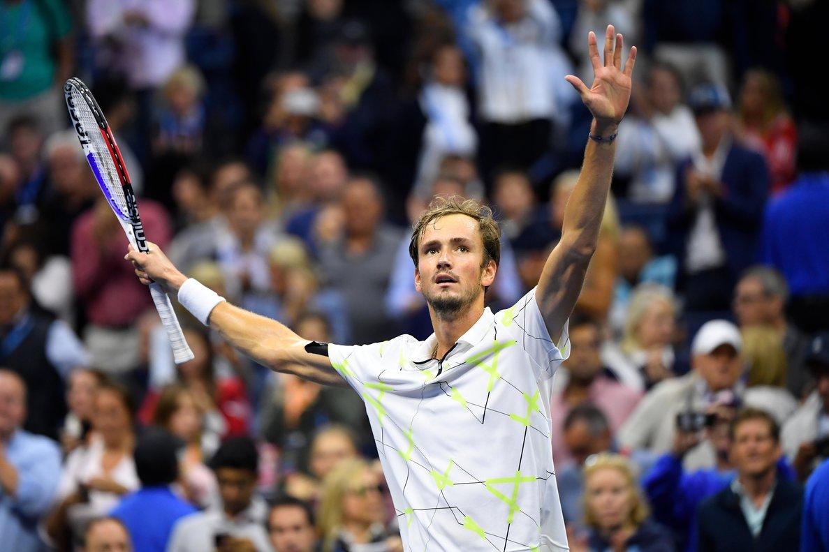 Daniil Medvedev, en el US Open.