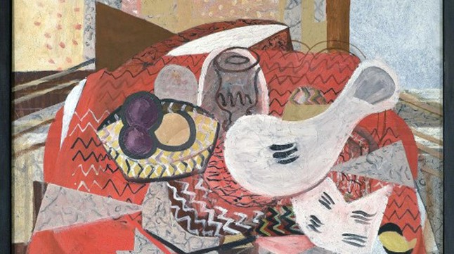 'Naturaleza muerte', de Georges Braque.