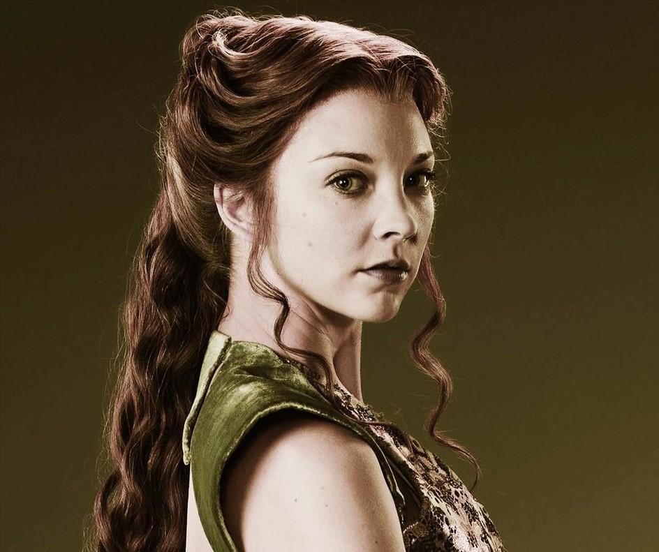 La actriz Natalie Dorman interpreta a Magaery Tyrell en Juego de tronos.