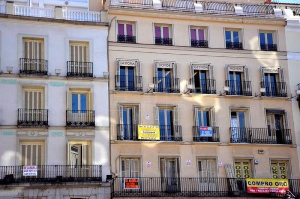 Viviendas en alquiler en Barcelona.