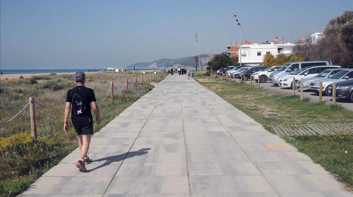Playa de Castelldefels.