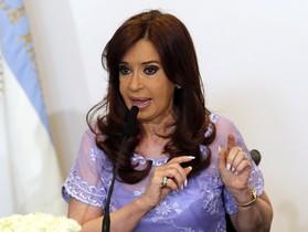 La presidenta de Argentina, Cristina Fernández de Kirchner, en un acto del Gobierno, el pasado enero en la Casa Rosada.