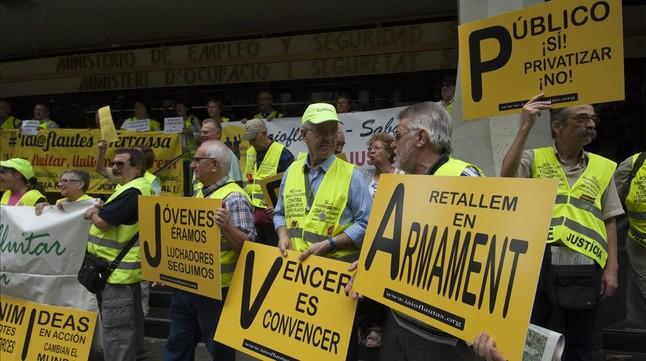 El simulador de pensiones de la seguridad social tiene for Oficina de seguridad social en barcelona