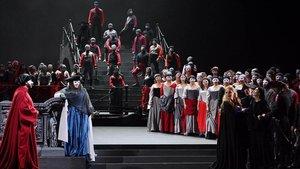 Una secuencia de 'La Gioconda' en el Gran Teatre del Liceu.