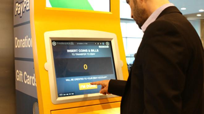 Una firma instala quioscos en los aeropuertos para cambiar el dinero sobrante