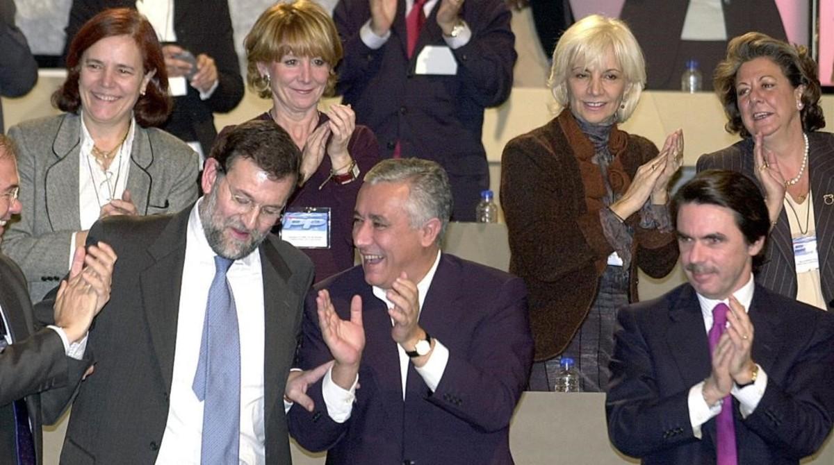 Convención Nacional del PP en enero del 2003.