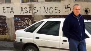 Pintada contra ETA en la localidad e Orio.