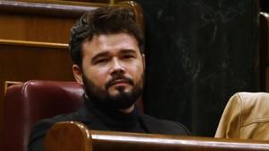 """Rufián l'arma a Twitter al relacionar el """"neonazi"""" Zozulya amb el PP i Ciutadans"""