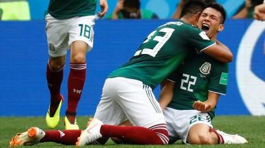 Un México maravilloso desnuda a una gris Alemania