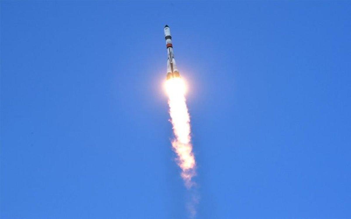 Un satélite ruso puesto en órbita.