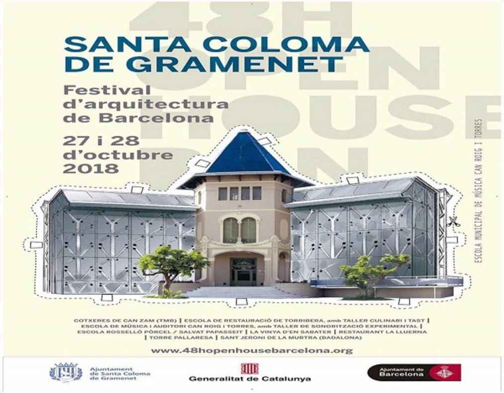 Santa Coloma de Gramenet participa en el Open House.
