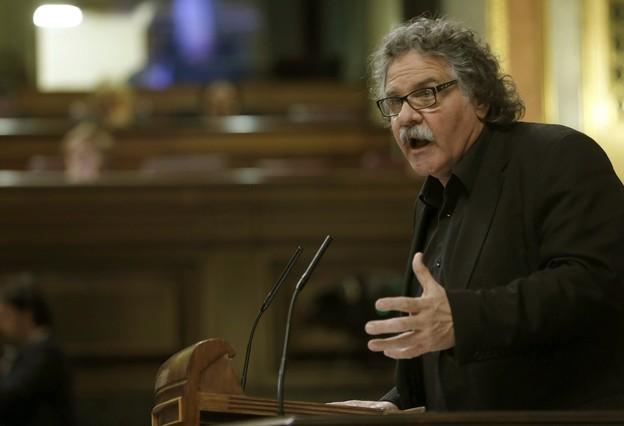 Jordi Tardà (ERC), en el debate de investidura.