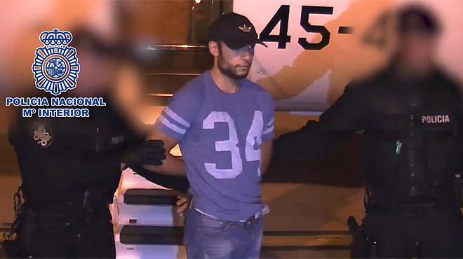 El acusado del doble crimen de Cuenca ha sido trasladado a los juzgados de la ciudad.
