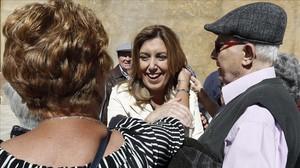 Pedro Sánchez aún no ha hablado con Susana Díaz, Page, Lambán y Puig