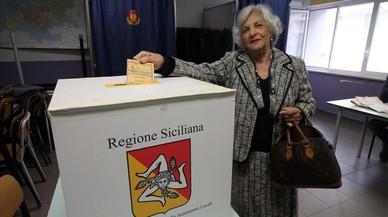 La coalición conservadora se perfila como ganadora de las elecciones regionales en Sicilia