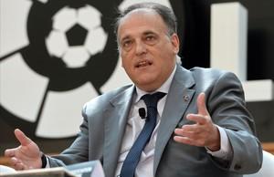 LaLiga pagarà 1,2 milions d'euros a l'any a Tebas