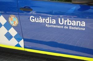 Vehículo de la Guardia Urbana de Badalona.