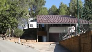 Instalaciones del centro de menores Estrep de Sant Salvador de Guardiola.