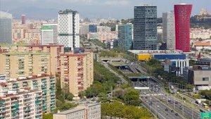Un ciclista de 70 anys mor al ser atropellat per un cotxe a l'Hospitalet de Llobregat