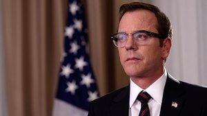 Kiefer Sutherland, inesperado presidente de los EEUU en 'Sucesor designado'.