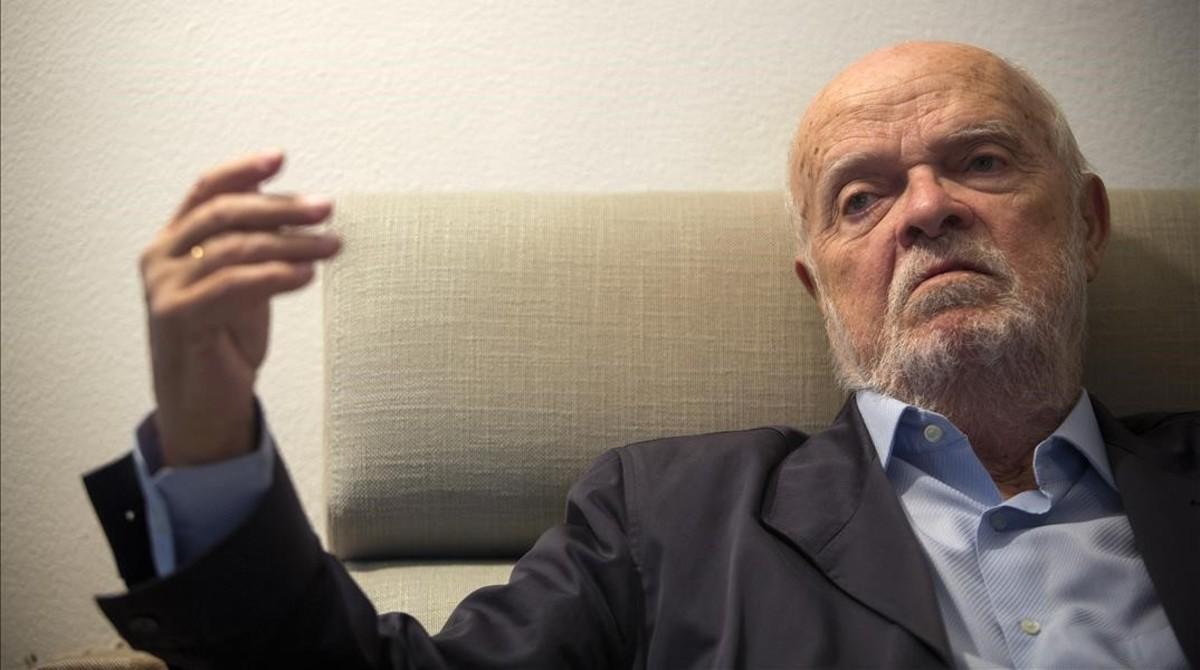 """José Antonio Martín Pallín: """"Asistimos a la degeneración de la democracia"""""""