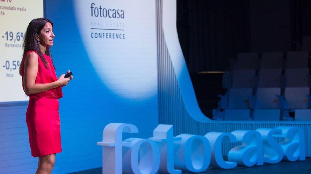 Imagen de un acto de Fotocasa, empresa perteneciente al grupo Schibsted.