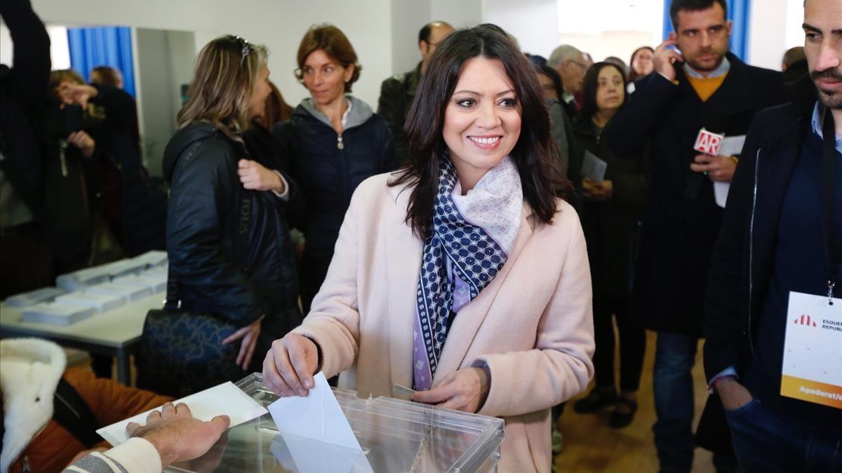 La dona de Puigdemont, nova presentadora de la televisió de la Diputació de Barcelona