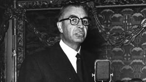 El primer alcalde franquista de Barcelona, Miquel MateuPla.