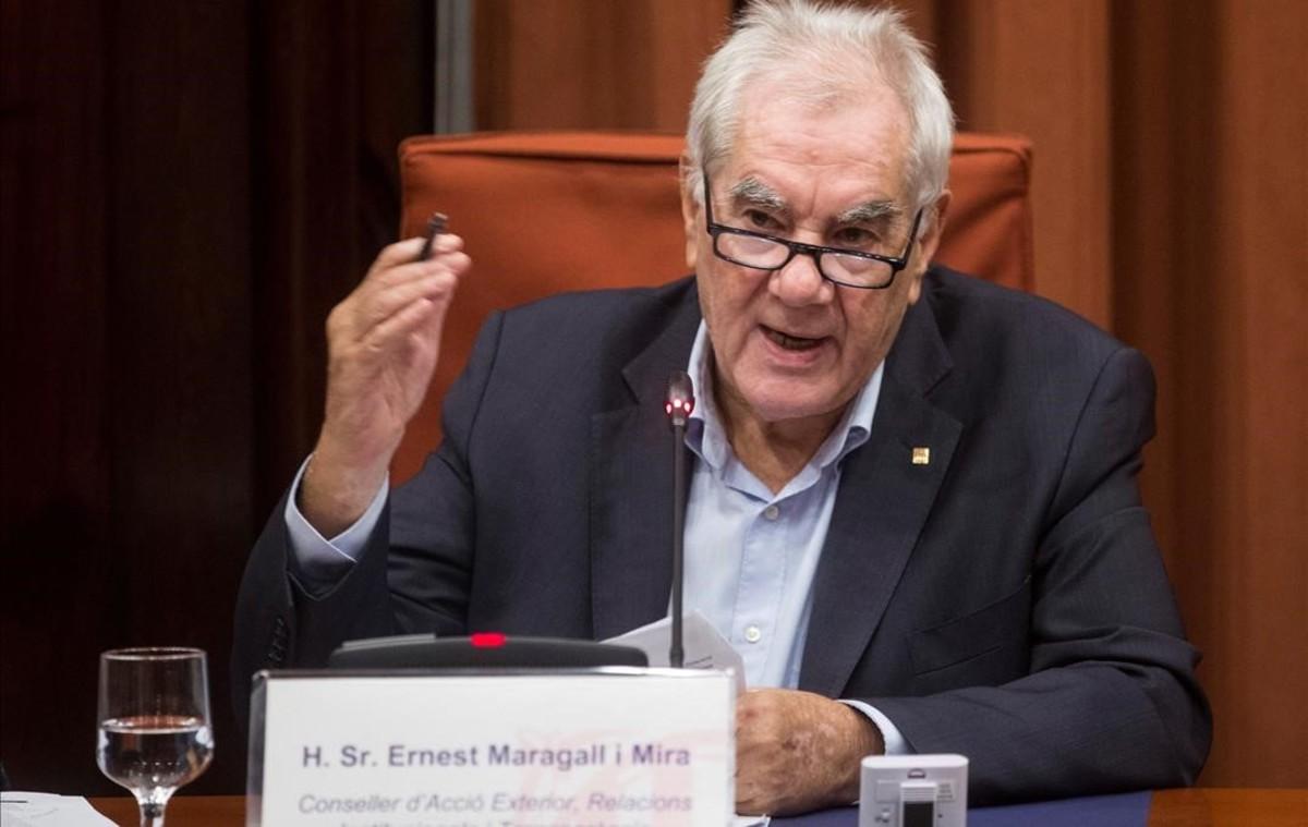 Maragall rebutja ara per ara la via unilateral i aposta pel diàleg