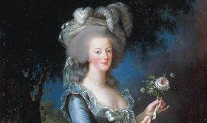 Un retrato de María Antonieta.