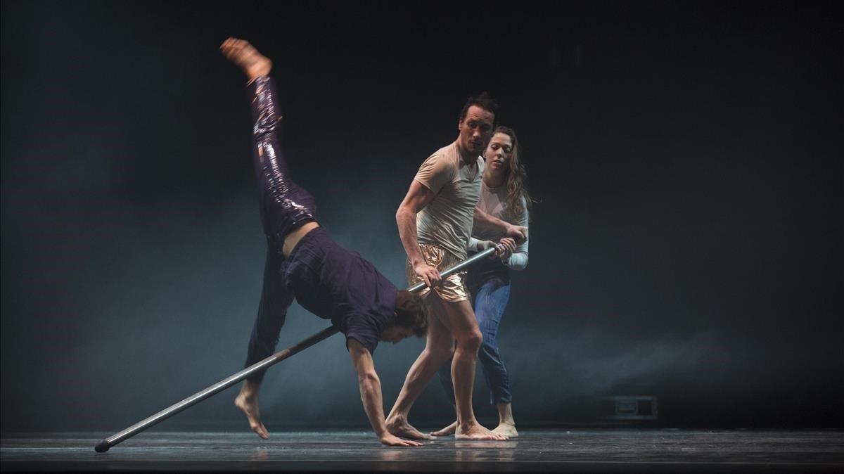 'Nu', espectáculo diurigido por Quim Giron, nueva propuesta del Circ d'Hivern de Nou Barris.