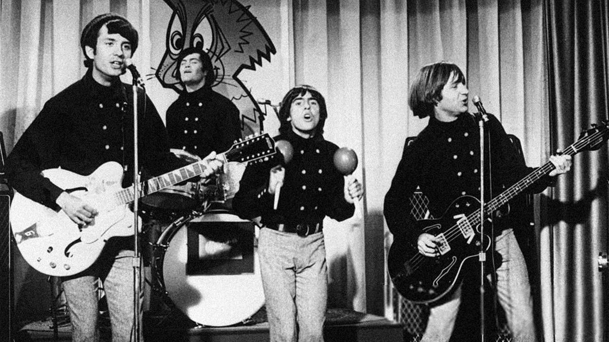 The Monkees, con Peter Tork a la derecha.