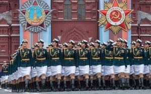 Putin es conjura per mantenir la potència militar de Rússia durant la celebració del Dia de la Victòria