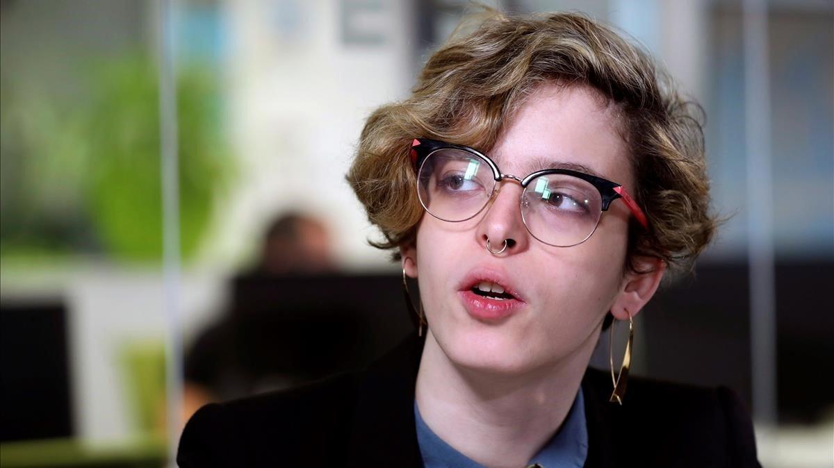 La escritora Elizabeth Duval.
