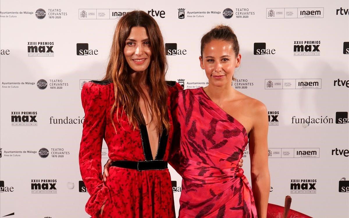 Las actrices Barbara Lennie e Irene Escolar.