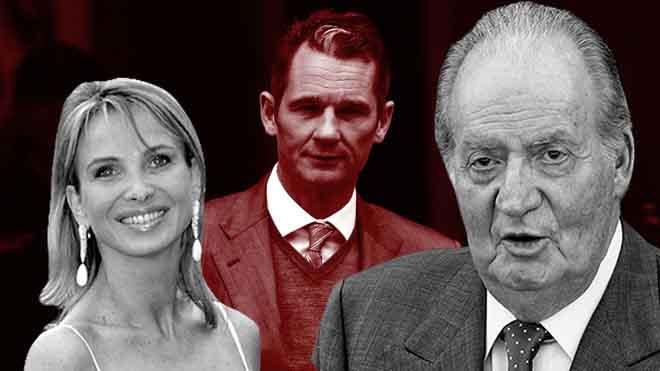 Les clavegueres policials intenten comprometre el rei Joan Carles