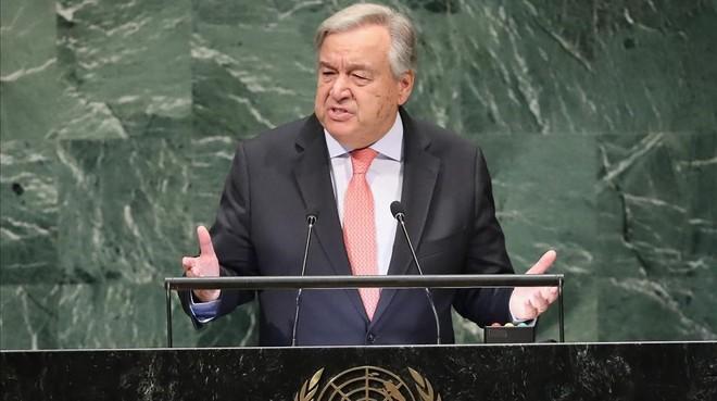 Guterres denuncia los ataques al multilateralismo