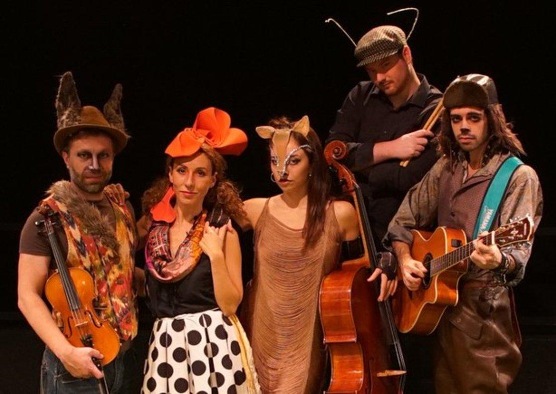 'Els músics de Bremen', un musical que aún puede verse este mes.