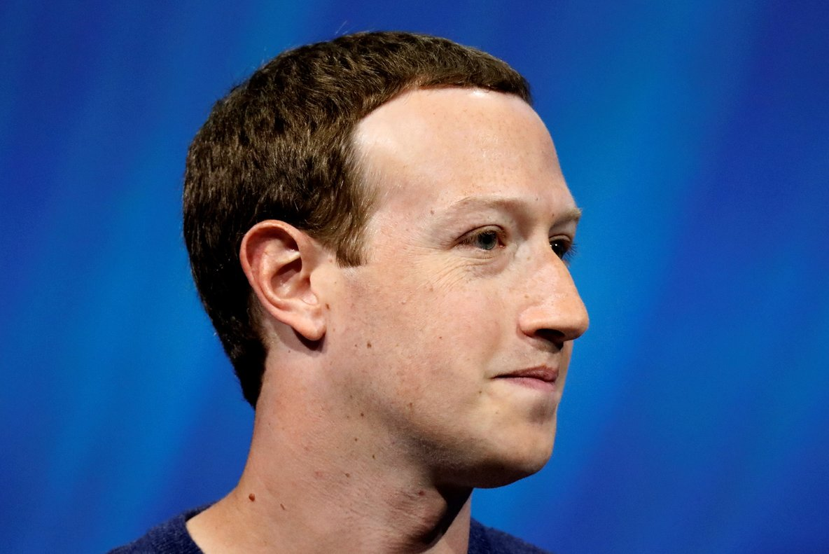 Facebook s founder and CEO Mark Zuckerberg speaks at the Viva Tech start-up and technology summit in Paris  France   REUTERS Charles Platiau File Photo