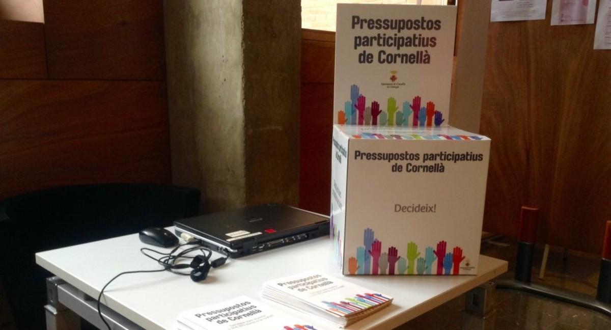 Abierta la tercera edición de los Presupuestos Participativos de Cornellà.