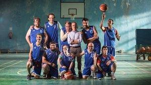 Los actores de la película 'Campeones'.